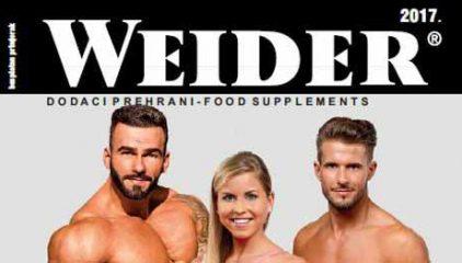 Web katalog za Weider proizvode